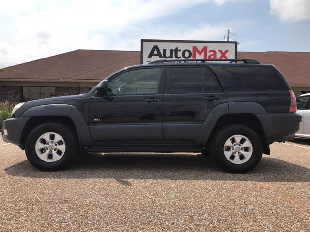 2003 Toyota 4Runner for sale at AutoMax of Memphis - Jason Wulff in Memphis TN