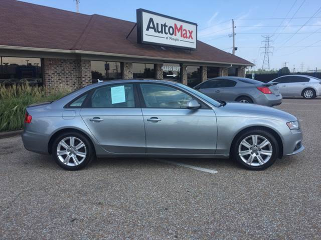 2010 Audi A4 for sale at AutoMax of Memphis - Dallas Flowers - Darrell James in Memphis TN