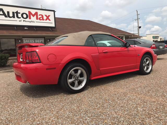 2002 Ford Mustang for sale at AutoMax of Memphis - Jason Wulff in Memphis TN