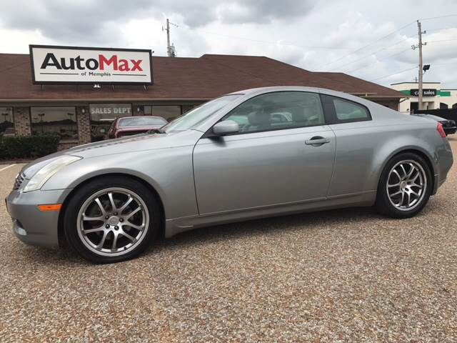 2005 Infiniti G35 for sale at AutoMax of Memphis - Jason Wulff in Memphis TN