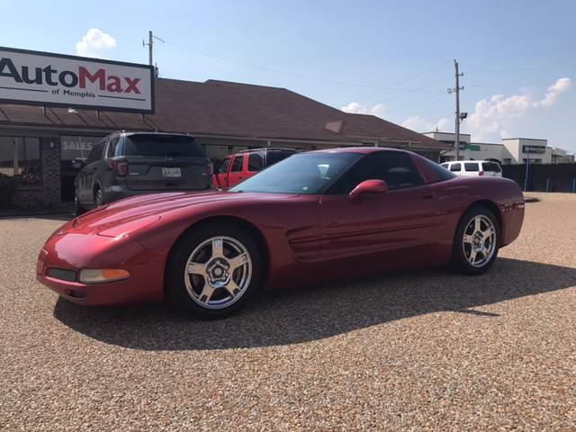 1998 Chevrolet Corvette for sale at AutoMax of Memphis - Jason Wulff in Memphis TN