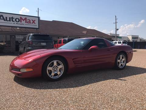 1998 Chevrolet Corvette for sale at AutoMax of Memphis - Jason Wulff in Memphis TN