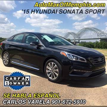 2015 Hyundai Sonata for sale at AutoMax of Memphis - V Brothers in Memphis TN