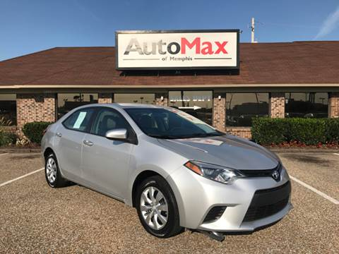 2014 Toyota Corolla for sale at AutoMax of Memphis in Memphis TN