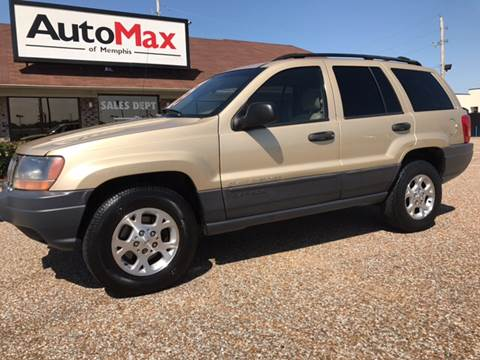 2000 Jeep Grand Cherokee for sale at AutoMax of Memphis - Jason Wulff in Memphis TN