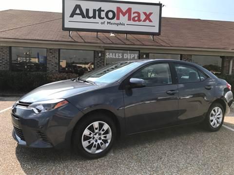 2016 Toyota Corolla for sale at AutoMax of Memphis - David Harper in Memphis TN