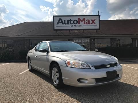 2007 Chevrolet Monte Carlo for sale at AutoMax of Memphis in Memphis TN