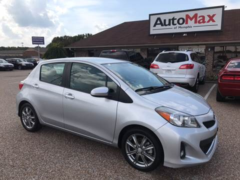 2012 Toyota Yaris for sale at AutoMax of Memphis - Jason Wulff in Memphis TN