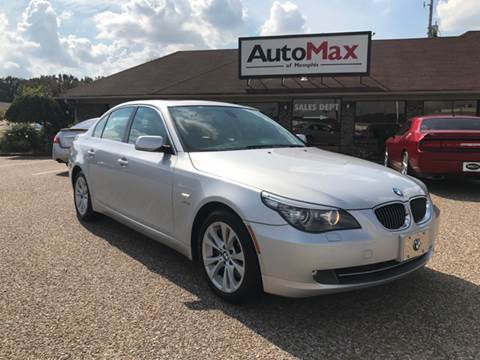 2010 BMW 5 Series for sale at AutoMax of Memphis - JERRY HUNTER in Memphis TN