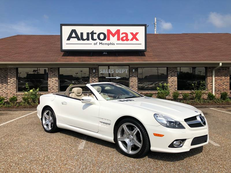 Exceptional 2009 Mercedes Benz SL Class For Sale At AutoMax Of Memphis In Memphis TN