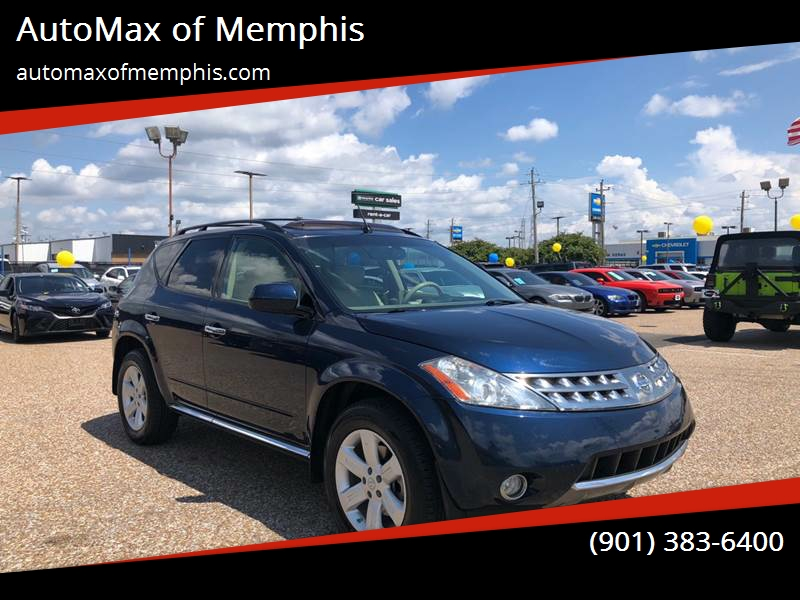 2007 Nissan Murano For Sale At AutoMax Of Memphis In Memphis TN