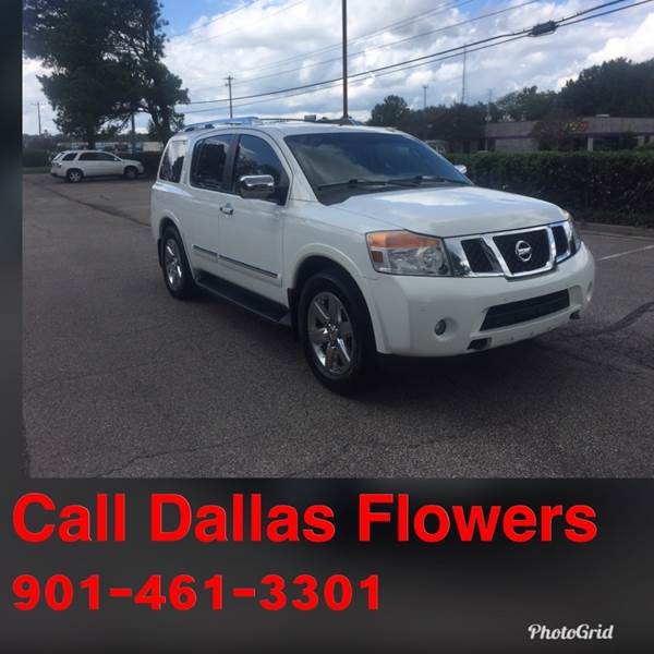 2011 Nissan Armada For Sale At AutoMax Of Memphis   Dallas Flowers In  Memphis TN