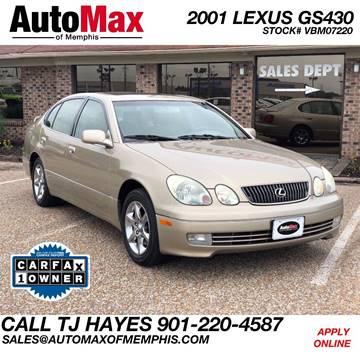 2001 Lexus GS 430 for sale in Memphis, TN