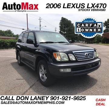 2006 Lexus LX 470 for sale in Memphis, TN