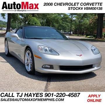 2008 Corvette For Sale >> 2008 Chevrolet Corvette For Sale In Memphis Tn