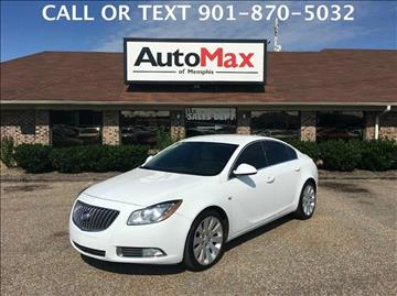 2011 Buick Regal for sale at AutoMax of Memphis - DAVID HARPER in Memphis TN