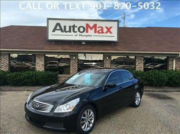 2009 Infiniti G37 Sedan for sale at AutoMax of Memphis - RICHARD THIGPEN in Memphis TN