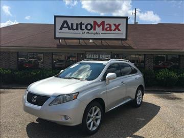 2010 Lexus RX 350 for sale at AutoMax of Memphis - DAVID HARPER in Memphis TN