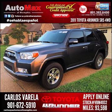 2011 Toyota 4Runner for sale at AutoMax of Memphis - V BROTHERS SALES TEAM in Memphis TN