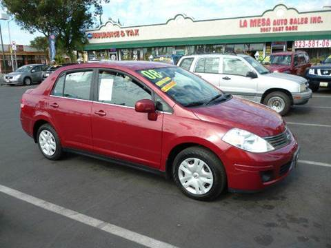 2008 Nissan Versa for sale at La Mesa Auto Sales in Huntington Park CA