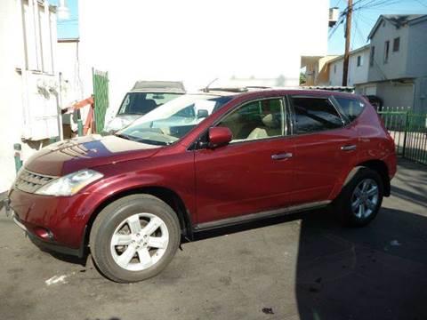 2007 Nissan Murano for sale at La Mesa Auto Sales in Huntington Park CA