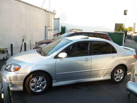 2005 Toyota Corolla for sale at La Mesa Auto Sales in Huntington Park CA