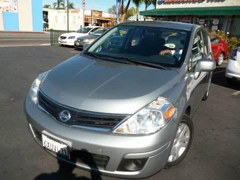 2010 Nissan Versa for sale at La Mesa Auto Sales in Huntington Park CA
