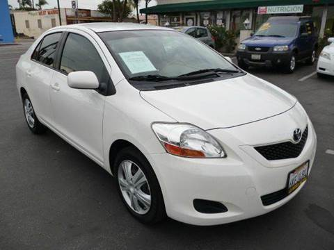 2010 Toyota Yaris for sale at La Mesa Auto Sales in Huntington Park CA