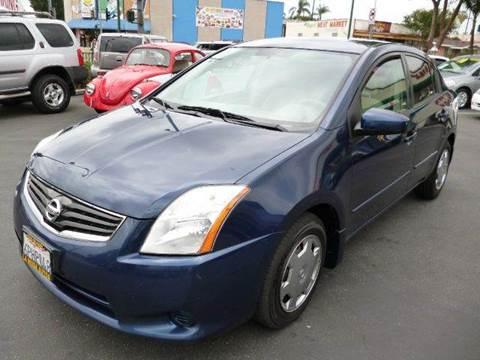 2010 Nissan Sentra for sale at La Mesa Auto Sales in Huntington Park CA