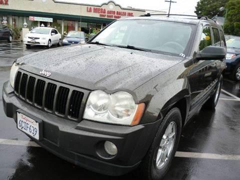 2005 Jeep Grand Cherokee for sale at La Mesa Auto Sales in Huntington Park CA