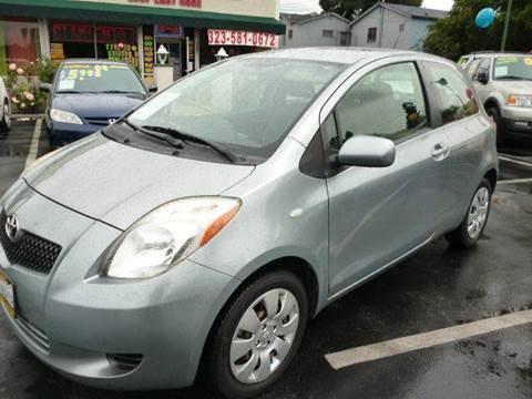 2007 Toyota Yaris for sale at La Mesa Auto Sales in Huntington Park CA