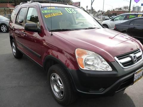 2003 Honda CR-V for sale at La Mesa Auto Sales in Huntington Park CA