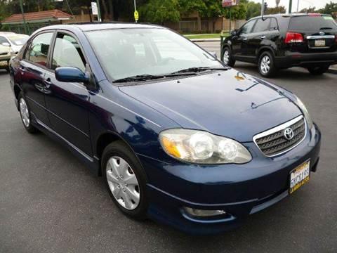 2007 Toyota Corolla for sale at La Mesa Auto Sales in Huntington Park CA