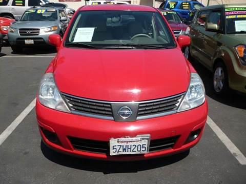 2007 Nissan Versa for sale at La Mesa Auto Sales in Huntington Park CA