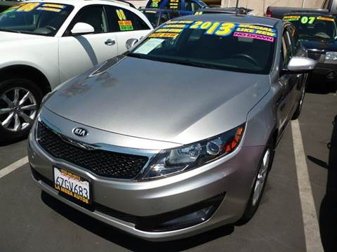 2013 Kia Optima for sale at La Mesa Auto Sales in Huntington Park CA