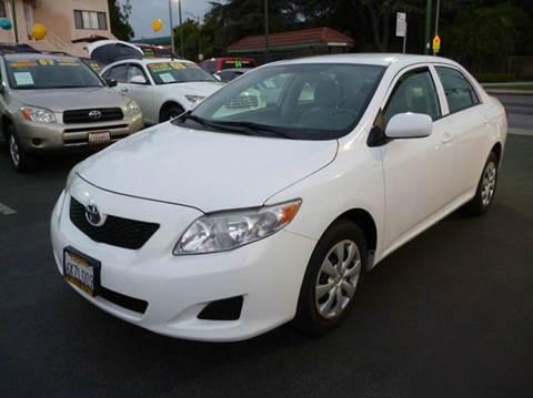 2010 Toyota Corolla for sale at La Mesa Auto Sales in Huntington Park CA