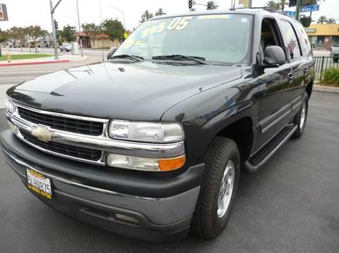 2005 Chevrolet Tahoe for sale at La Mesa Auto Sales in Huntington Park CA