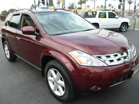 2005 Nissan Murano for sale at La Mesa Auto Sales in Huntington Park CA