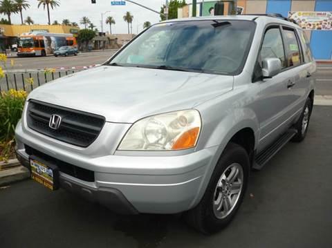 2003 Honda Pilot for sale at La Mesa Auto Sales in Huntington Park CA