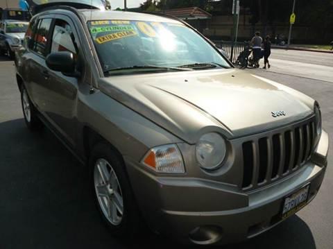 2007 Jeep Compass for sale at La Mesa Auto Sales in Huntington Park CA