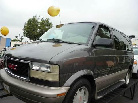 2003 GMC Safari for sale at La Mesa Auto Sales in Huntington Park CA