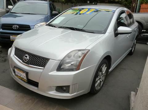 2007 Nissan Sentra for sale at La Mesa Auto Sales in Huntington Park CA
