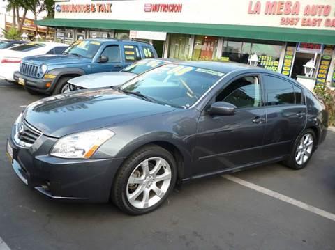 2008 Nissan Maxima for sale at La Mesa Auto Sales in Huntington Park CA