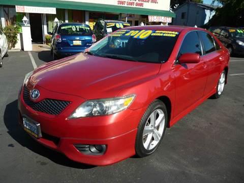 2010 Toyota Camry for sale at La Mesa Auto Sales in Huntington Park CA