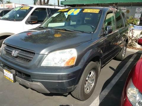 2004 Honda Pilot for sale at La Mesa Auto Sales in Huntington Park CA