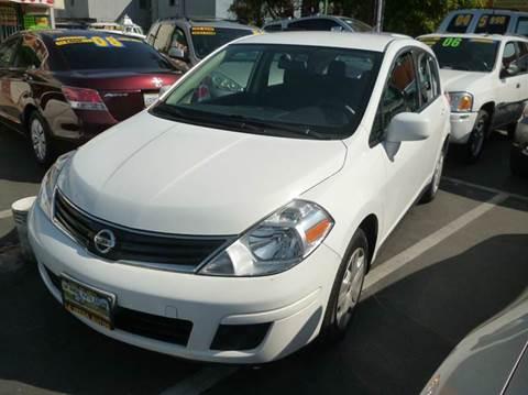 2012 Nissan Versa for sale at La Mesa Auto Sales in Huntington Park CA