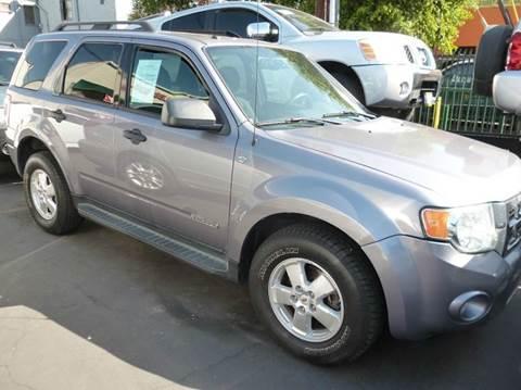 2008 Ford Escape for sale at La Mesa Auto Sales in Huntington Park CA