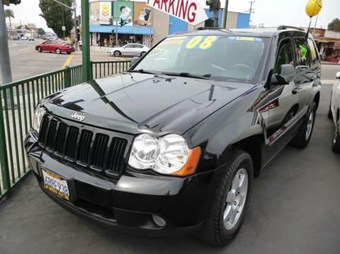 2008 Jeep Grand Cherokee for sale at La Mesa Auto Sales in Huntington Park CA
