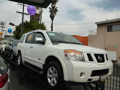 2008 Nissan Armada for sale at La Mesa Auto Sales in Huntington Park CA