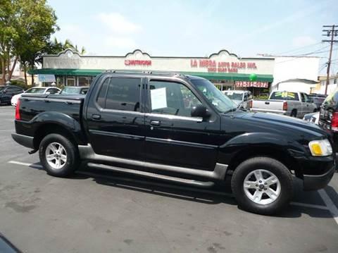 2005 Ford Explorer Sport Trac for sale at La Mesa Auto Sales in Huntington Park CA